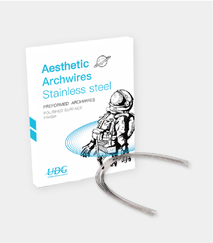 Aesthetic Archwires Stainless steel